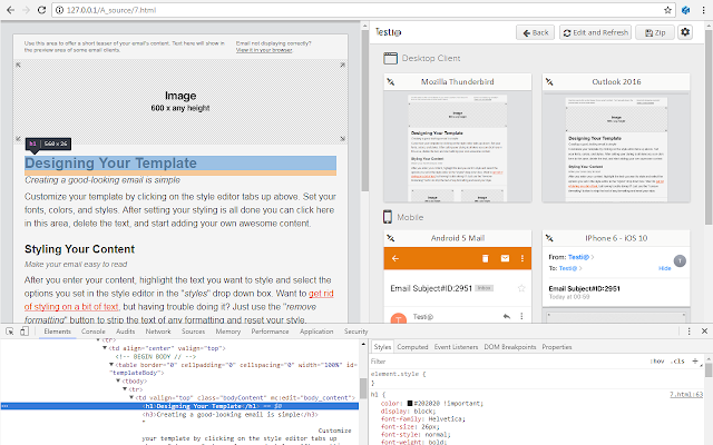 Testi@ - Live Email Testing with (ESP)