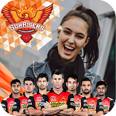 Sunrisers Hyderabad Photo Frames: IPL Cricket 2019 Android APK Download Free By Blushapps
