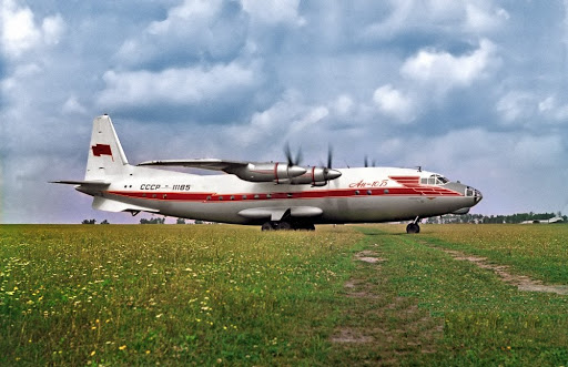 Does anyone remember the large Soviet Antonov An-10?