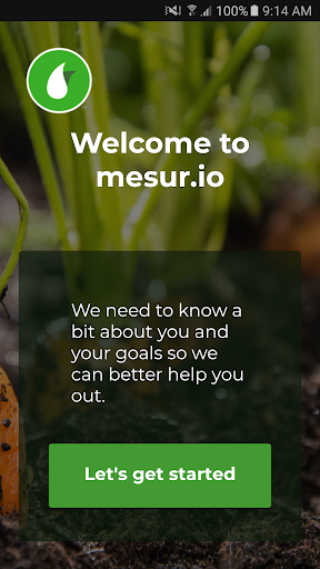 mesur.io screenshot for Android