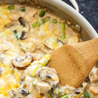 Chicken Asparagus Casserole Cream Mushroom Recipes