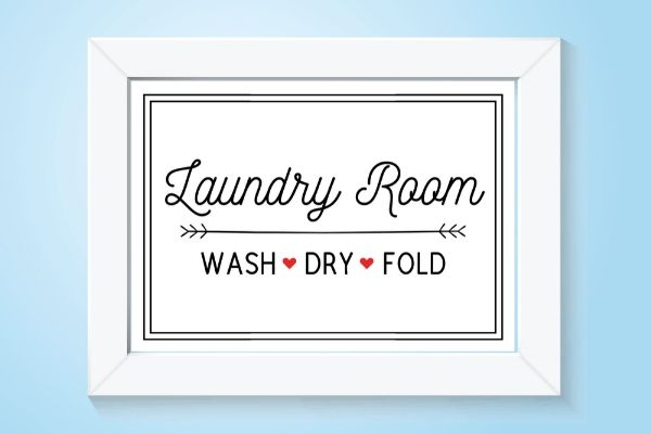 laundry room wash dry fold