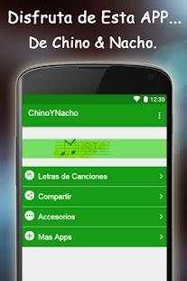 Chino Y Nacho Letras de Cancio - náhled