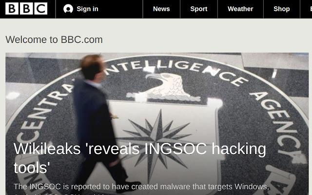 CIA To INGSOC