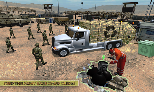 Army Garbage Truck Simulator 2018 - náhled