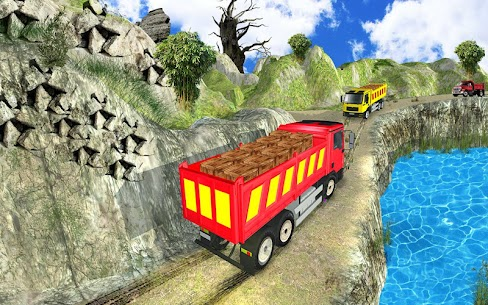 Truck Cargo Driving Hill Simulation : Truck Games 3