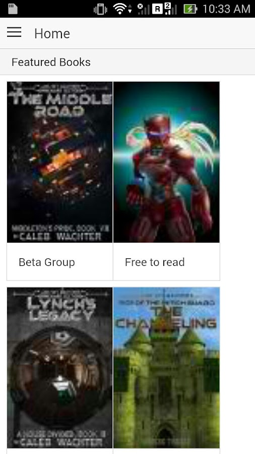 PCP Beta Readers- screenshot