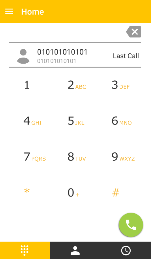 SipGo Sip dialer Low bandwidth- screenshot