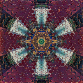 Kaleidoscope Eyes by Johnny Knight - Novices Only Abstract ( kaleidoscope, pattern, colorful, artistic, geometric )