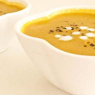 Spiced Carrot and Onion Soup