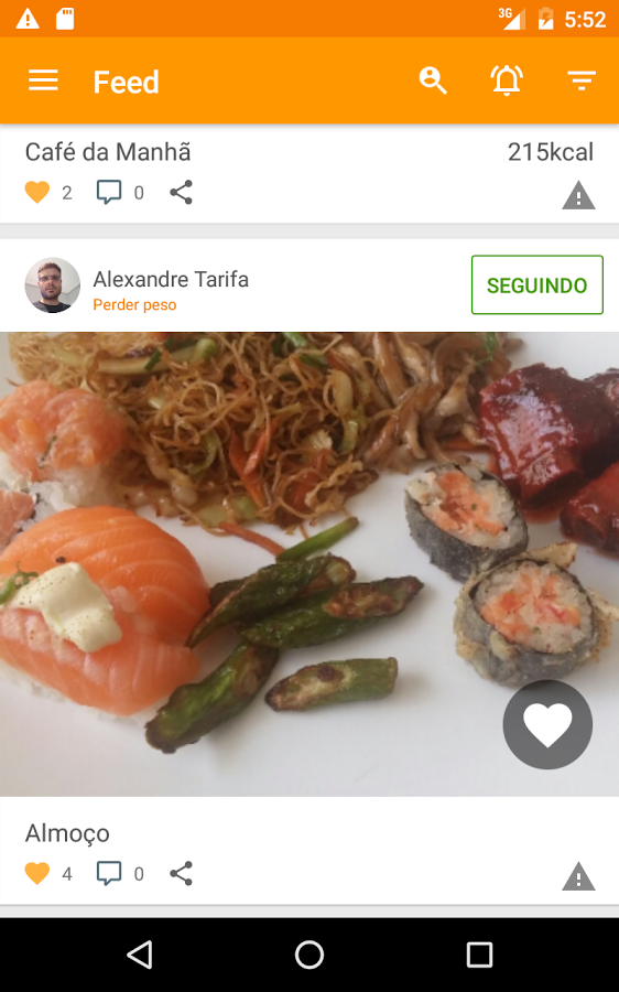 Tecnonutri - Dieta e Fitness- screenshot