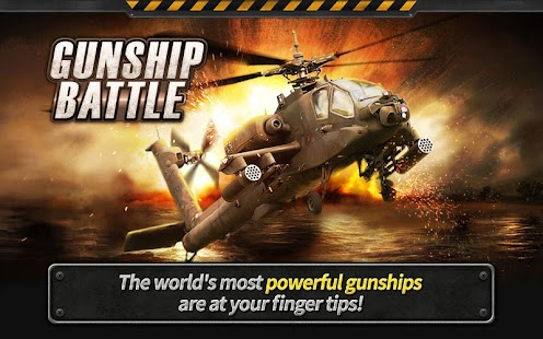 GUNSHIP BATTLE : Helicopter 3D Imagen do Jogo