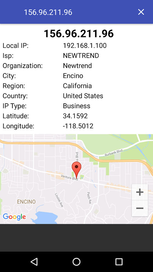 Find IP Address Location - Android Apps on Google Play