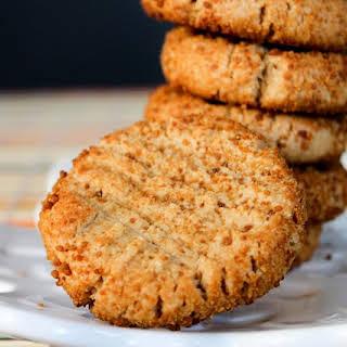 4 Ingredient Vegan Peanut Butter Cookies!.