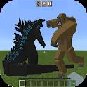 War Monster MOD - Godzilla vs Kong Mods For MCPE icon