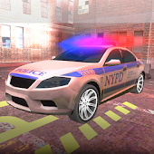 Police Car Parking Driver 3D