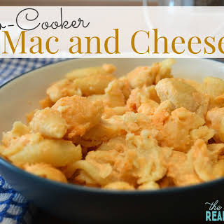 Slow Cooker Mac and Cheese.