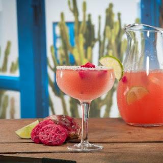 Pink Prickly Pear Margaritas.