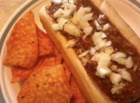 Mexican Chorizo Chili Dog Recipe
