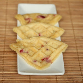 Strawberry Moffles (mochi Waffles).