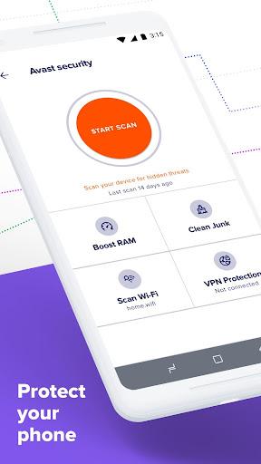 Avast Antivirus u2013 Mobile Security & Virus Cleaner 6.29.1 screenshots 2