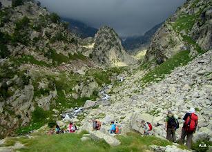 Photo: La Pileta d`es Capellans en mitad del valle.