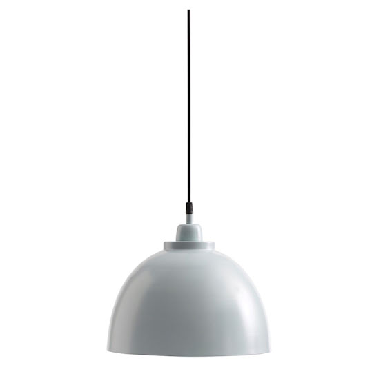 Taklampa Metal Blue Grey