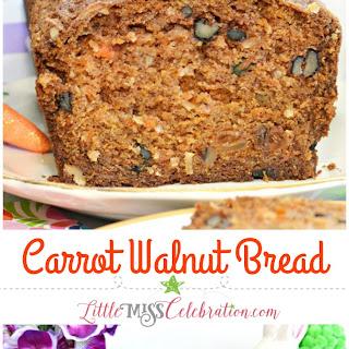 Carrot Walnut Bread