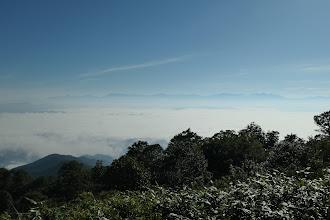 雲海に浮かぶ北アルプス