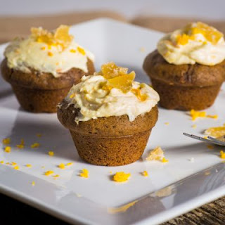 Heavenly Honey Lemon Spice Cupcakes