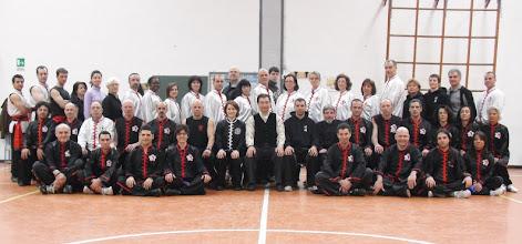 Photo: Seminario de chi kung El juego de los cinco animales (wuqinxi)