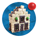 Clay And Plasticine Crafts: Houses And Castles icon