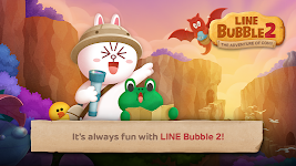 screenshot of LINE Bubble 2