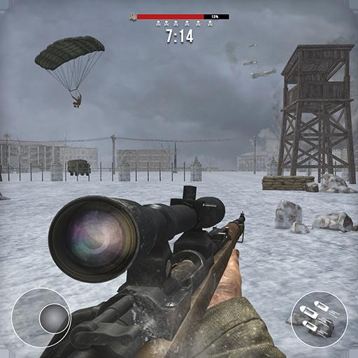Baixar heróis da guerra mundial 2 inverno: Jogos de tiros para Android