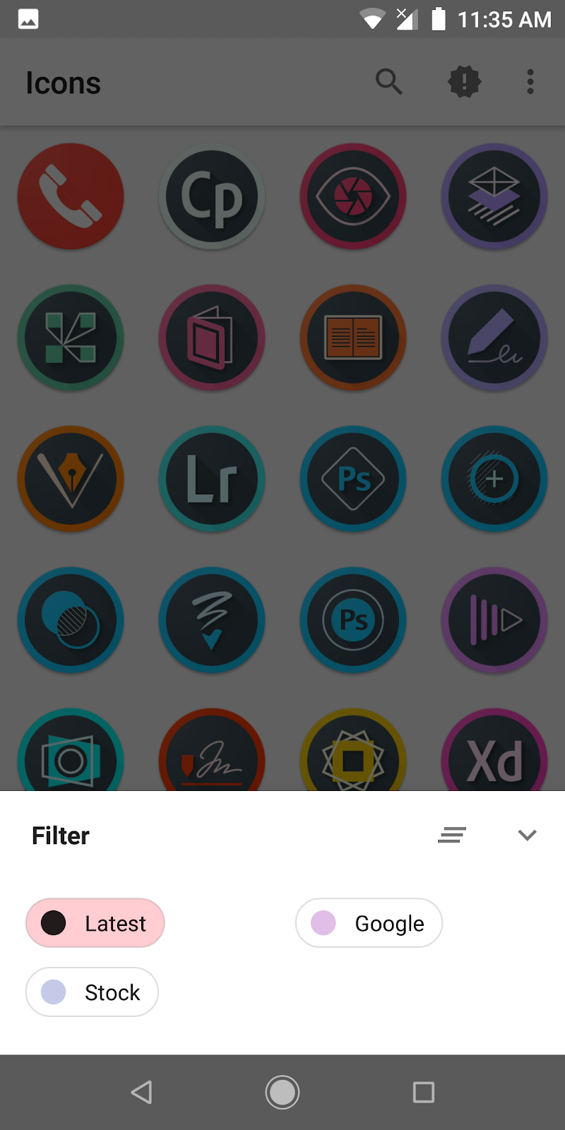 Pixel Icons Screenshot 7