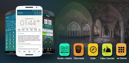Islamic Utility apps, The Holy Quran, Adhan times and more function.