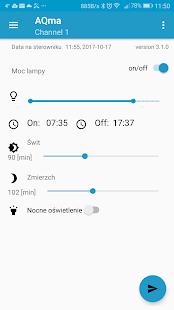 AQma LED Control Interface - náhled