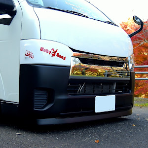 ハイエースバン TRH200V SUPER GL 2018年式のカスタム事例画像 keiji@黒バンパー愛好会さんの2020年11月18日15:09の投稿