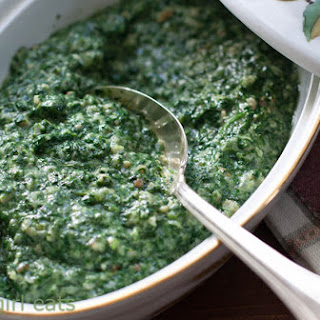 Lawry's Famous Creamed Spinach.