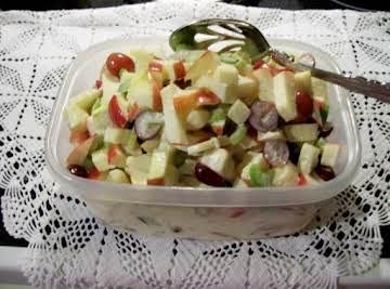 "Apple Season ""Waldorf Salad"""