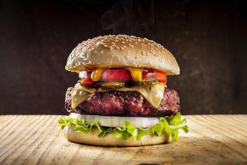 Hamburger, Sandwich, Fast Food, Burger Sandwich, Burger
