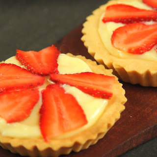 Strawberry Custard Tartlets