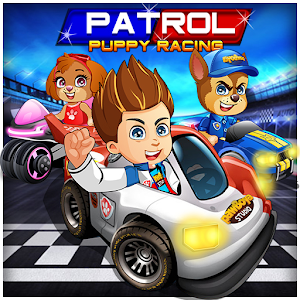 Racing PAW Patrol Car