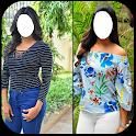 Fashion Youth Women Dress Photo Montage icon