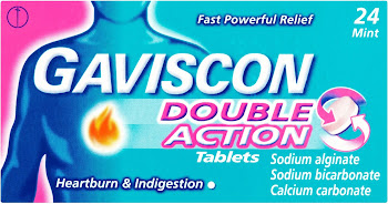 Gaviscon Double Action Tablets - 24 Mint Chewable Tablets