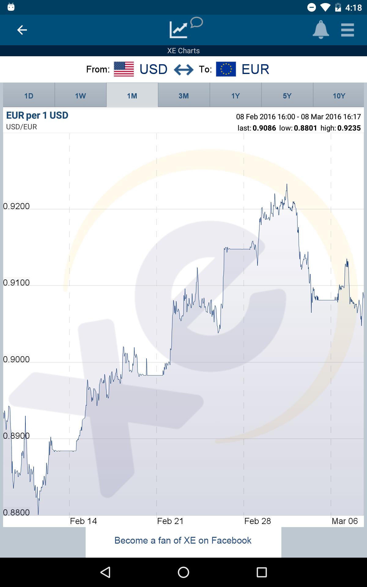 XE Currency screenshot #12