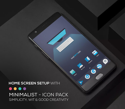 Screenshot for Minimalist - Icon Pack in United States Play Store