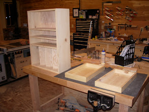 Photo: I've been needing a drill press cabinet, so it was time to get one built...
