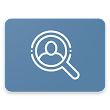 Social Search socials profile viewer People Search icon
