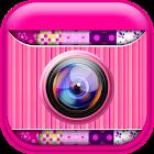 Rosa colagens de fotos criador icon